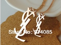 Min order $15(mix order) New Arriving! Brand lettter titanium stell fine jewelry for women
