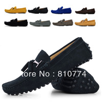 2014 Male sailing fashion genuine leather foot scrub the trend of casual shoes