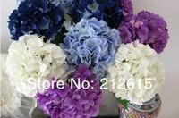 Artificial hydrangea flower, silk hydrangea free shipping