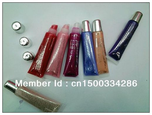 Lip Gloss Makeup Lots of 2 Pcs High Quality 7 colors Free Shipping 100009(China (Mainland))