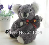Freeshipping plush toy koala bear australia stuffed koala mum and baby koala gift present to children and friends