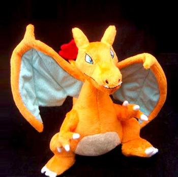 """NEW Pokemon Charizard 13"""" Plush Stuffed Animal Figure Doll Toy"""