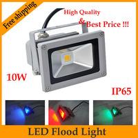 Free shipping  LED Flood Light 10W IP65 AC85V~265V 900lm Warm white / Cool white CE&ROSH christmas decorations
