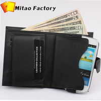 Hot selling ! Free shipping For Samsung Galaxy S3 S4Mini Case Genuine Leather Wallet For Samsung I9190 I9195 I9192 Purse Gift