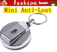 Mini Anti Theft Device Anti-Lost Security Hook Buckle for Wallet Cell Phone, 5pcs/lot