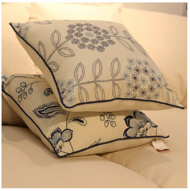 Hot Sale!American country style,emboridary cushion cover!(China (Mainland))