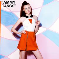 Fashion  new Tammytangs 2013 fashion spaghetti strap slim suit short skirt sexy  dress