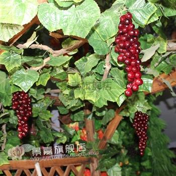 Dried flowers artificial fruit decoration hanging vines ceiling decoration artificial grape hanging vines