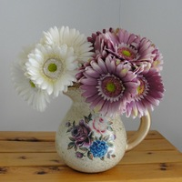 High artificial flower dyslexic set dining table flower fu long flower gerberas gerbera