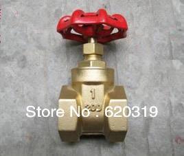 "gate valve brass1/2"""