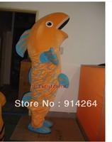 New Professional Carp Fish Mascot Costume Fancy Dress Adult Size   /free shipping  by FEDEX DHL