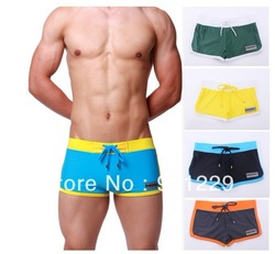 Free shipping 1 pcs Real Sizes Men's Swimming Swim Trunks Shorts Swimwear Pants High Quality(China (Mainland))