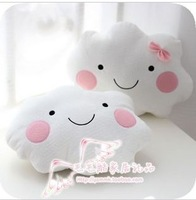Clouds shape lovers   cushion  pillow