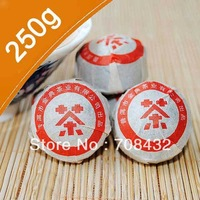 Free Shipping 250g/Bag Puer Ripe tea 2006 year Puerh mini tuo tea Top quality pu erh cooked tea