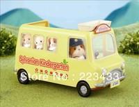 M'lele Novelty items   sylvanian families  tree  kindergarten school car 1pc