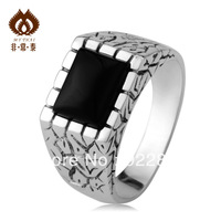 Ring thai silver male 925 pure silver male ring vintage jewelry