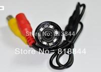 Free shipping 5 LED light night vision waterproof vehicle backup camera-23mm
