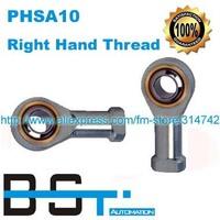 100pcs/lot PHSA10 SI10T/K 10mm Right Hand Thread Female Threaded Joint Bearing