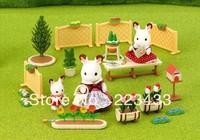 M'lele Novelty items  3kinds sylvanian families  room set 1pc