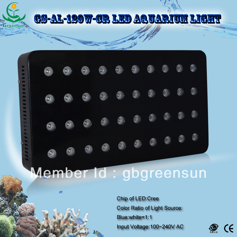 2013 Hot Sale 120W Dimmable Cree LED Aquarium Lighting With Full Spectrum,Factory Directly Sale(China (Mainland))