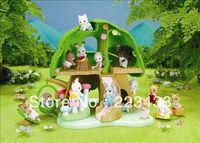 M'lele Novelty items   sylvanian families  tree house kindergarten school 1pc