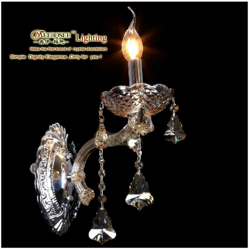 Wall Candle Sconce with Crystals Promotion-Shop for Promotional ...