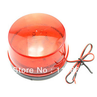 Safety Red Flashing Warning Light for Motorcycle Vehicle 12V