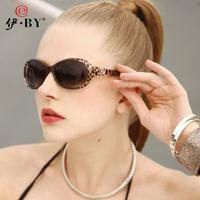By 2013 polarized sunglasses female sunglasses women's small box all-match leopard print sunglasses