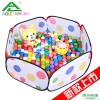 Portable magic child tent toy ocean ball pool baby wave pool 0-1 - 2 - 3