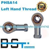 Left Hand Female Thread 14mm SI14T/K PHSA14 PHSA14L Rod End Joint Bearing