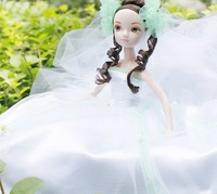 Free Shipping 29cm Kurhn Joint Body Doll Chinese Bride Dolls Jasmine Bride Dolls 9039, Best Gifts For Friends