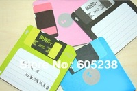 8pcs 3.5 inch Disk It Notes Creative Notes Shaped Like Floppy Disk