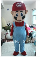 Mascot costume Super Mario Adult Size party supply NEW   /free shipping