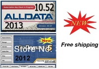 2013  Alldata 10.52 +mitchell on demand 2013+  esi 2013 free shipping