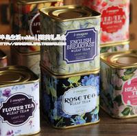 Free shiping Whittard of chelsea tea  mimi tea box flower tin box Random delivery 5.5x5.5x6cm 12pcs/lot