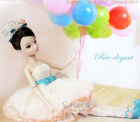 Free Shipping Kurhn Joint Body Doll Orchids Girl Dolls 6094, Chinese Glamorous Fashion Doll For Kids, Best Gift For Friends
