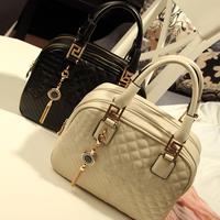 NEW women's handbag 2013 women's bags plaid embroidered tassel fashion handbag messenger bag wholesale shoulder bags