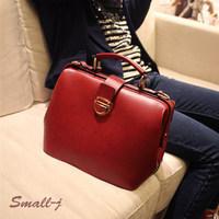 2013 women handbag PU leather fashion vintage handbag messenger bag handbag bag women work wholesale shoulder bags