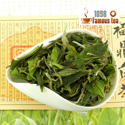 100g Organic Shou Mei White Tea,Natural Health Tea,China Famous Tea,Detoxicate and Slimming Tea,Free Shipping(China (Mainland))