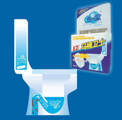 Cleanning Automatic Toilet Bowl Scrubbing Cleaner Tablet HQS-33118(China (Mainland))