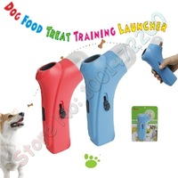 Hot Sell  18cm Pet Dog Play Food Treated Launcher Shoot gun Funny Toy free shipping