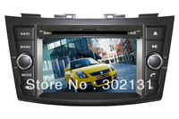 free shipping Suzuki swift DVD GPS player/ 4GB 128MB car DVD system