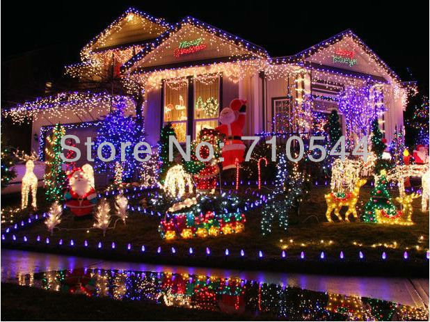 10M 100Leds Light String For Wedding Xmas,Waterproof Controller Interface/Can Connection110/220V US/UK/AU/EU Plug Factory Outled(China (Mainland))