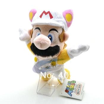 """Plush Toy 7"""" 18cm super mario  Plush Mario plush doll toys children's gift"""