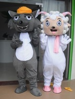 Mascot Female goat cartoon clothes walking cartoon dolls clothes prop cartoon costumes props cartoon costume