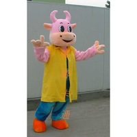 Mascot Cartoon clothes walking cartoon dolls clothes prop cartoon costumes dolls cartoon cow cartoon costume