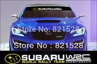 Windshield Decoration Racing decal sticker Emblem Subaru Legacy Forester tribeca