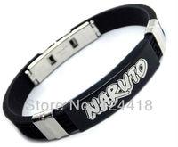 Free Shipping New Anime Naruto Cosplay Accessories Bracelet Adjustable Titanium Steel