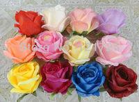 9cm rose flower head wedding flowers