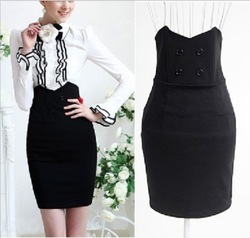 Hot Selling! Fashion Formal Women Skirts for Office Ladies OL High Quality Elegant 2013 New A036(China (Mainland))